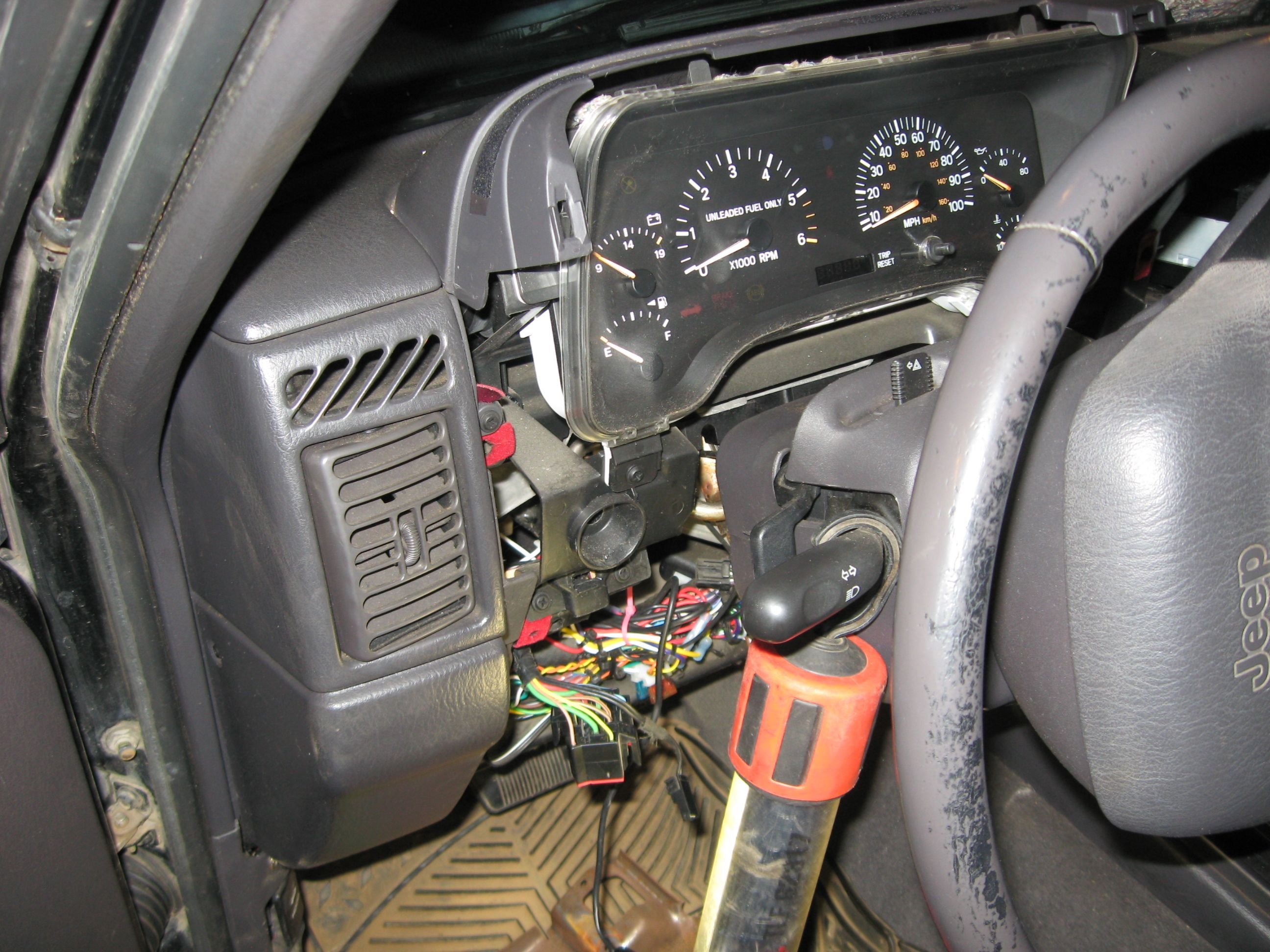 how to rebuild/recondition headlight/dimmer switch (97+)