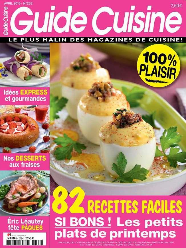 Guide Cuisine N°262 Avril 2013