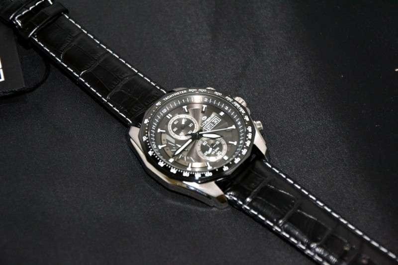 Lorenz leather chronograph men 39 s wrist watch retail price usd 480 ebay for Retail price watches