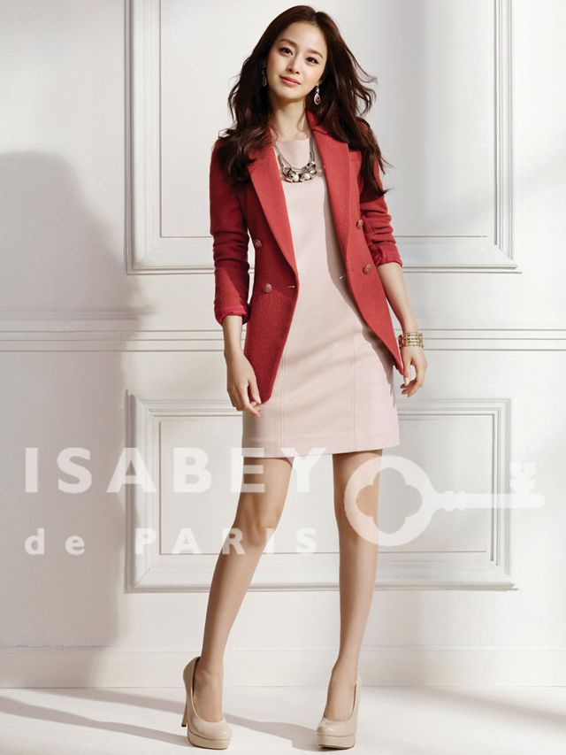 Kim Tae Hee Suits Up In Isabey De Paris Spring 2012 Collection Couch Kimchi