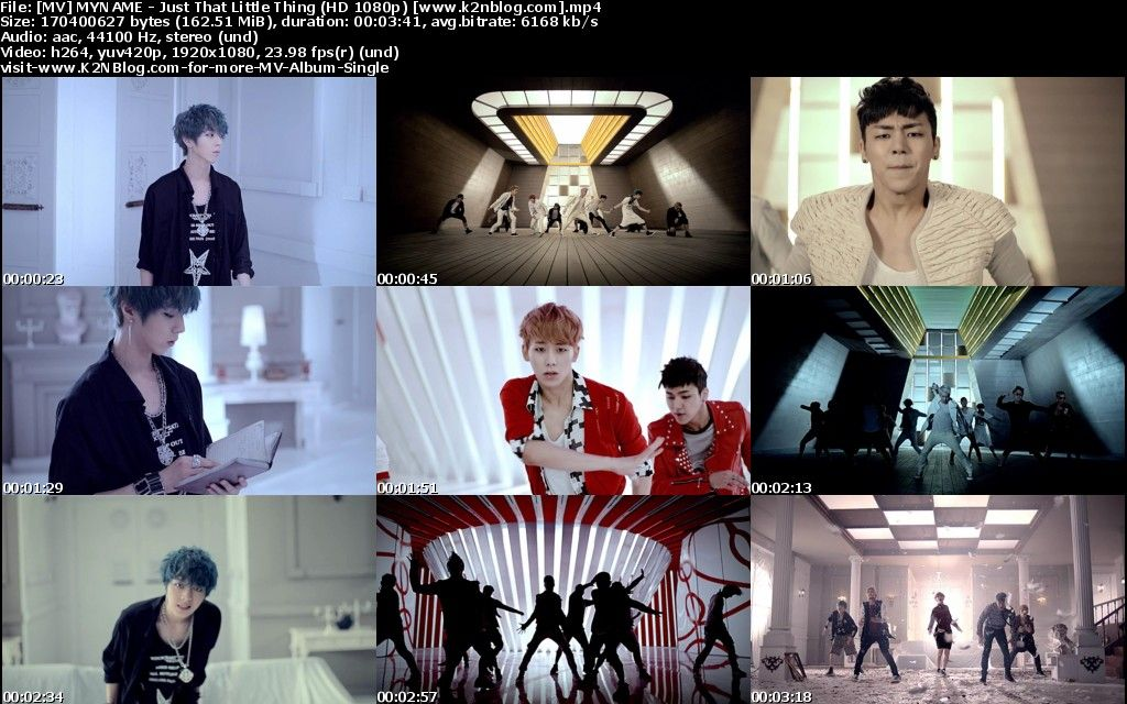 (MV) MYNAME - Just That Little Thing (HD 1080p Youtube)