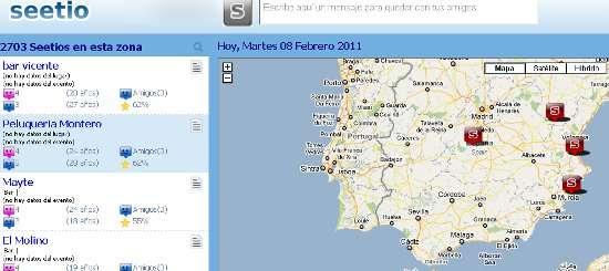 Mapas con Eventos