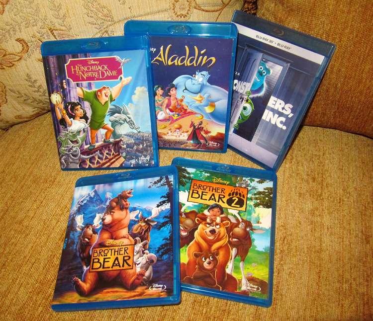 How Many Disney DVDs/Blu-rays